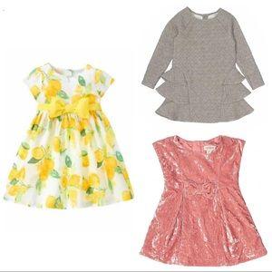 Bundle 3 Cat & Jack 4 year old girl dresses